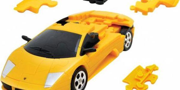 3D puzzle Auta!