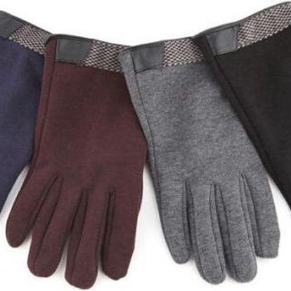 Dotykové rukavice na mobil Luxury vhodné i ke kabátu!