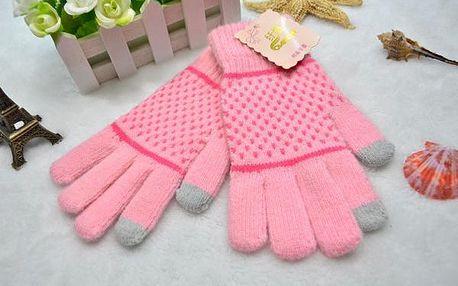 Dotykové rukavice na mobil Nordic se vzorem!
