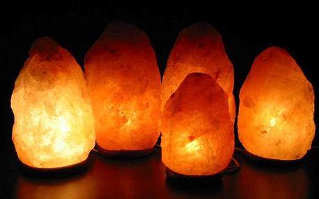 Solná lampa - vyzkoušejte její blahodárné účinky!