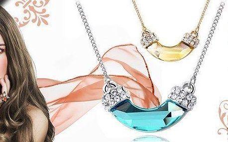 Elegantní dámský náhrdelník s výběrem ze dvou barevných provedení
