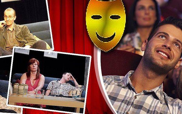 Divadelní představení Opačné pohlaví. Bláznivá komedie v divadle Amadeus.