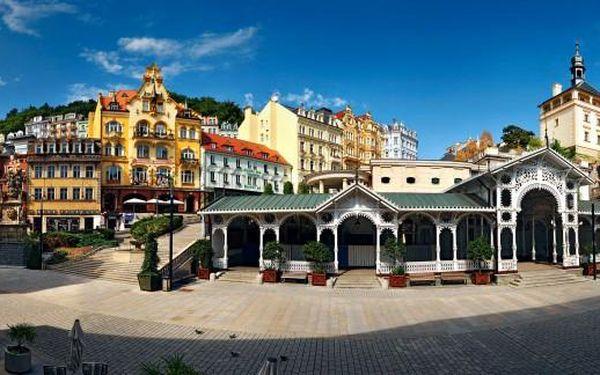 Karlovy Vary Hotel Kučera*** 3 dny pro 2 se snídaněmi, večeří, wellness a návštěvou muzea Becherovky