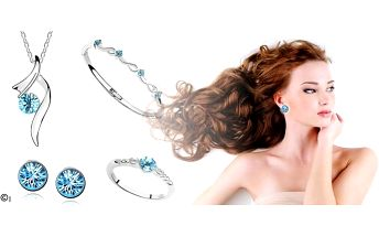 Která žena by neměla ráda šperky? Pořiďte svým dámám luxusní set s krystaly Swarovski Elements ve čtyřech barevných provedeních! Řetízek s přívěskem, náramek, prsten a náušnice - fantastická sada, která podtrhne krásu a ženskost každé dámy bez ohledu na v