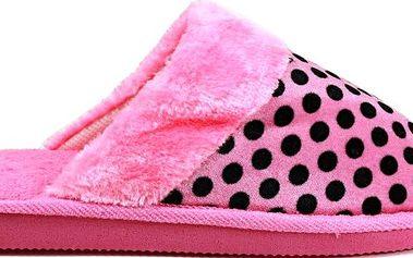 Chlupaté papuče 7002PI 42/43