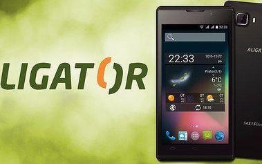 Elegantní a výkonný smartphone Aligator S4515
