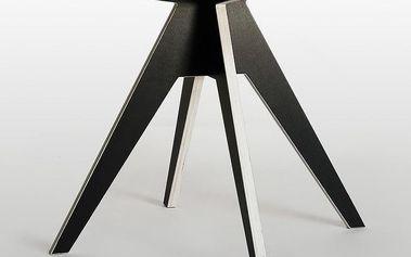 Stůl Edi Black, 85 cm - doprava zdarma!