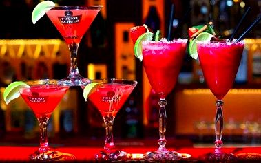 Alkoholické koktejly ve Fruko baru