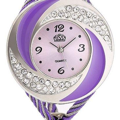 Dámské moderní hodinky s originálním ciferníkem