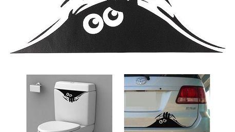 Samolepka na auto či toaletu s příšerkou