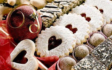 1 kg domácího vánočního cukroví