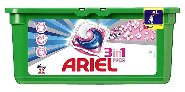 ARIEL Active Gel Touch of Lenor 32 ks