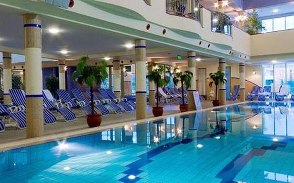 Luxusní dovolená jako v Park INN. Maďarsko - Hotel Karos Spa****: 5denní pobyt s polopenzí a vstupem do Spa 4000m2. Termíny do března.