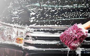 Ruční mytí automobilů s možností tepování a nano vosku