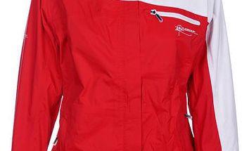 Dámská bunda Loap, červeno-bílá