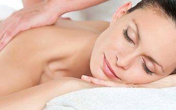 Relaxační masáž zad a šíje v délce 30 minut