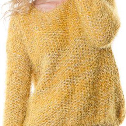 Yes!Miss dámský svetr žlutý