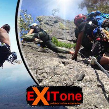 Via Ferrata - kurz horolezectví na vodní bráně včetně vybavení, instruktora a fotoreportu!