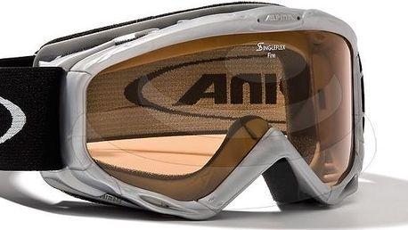 Lyžařské brýle Fire, A7068.4.21 brýle lyžařské,jr.,Alpina,Silver