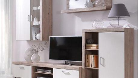 Prostorná a moderní obývací stěna Strakoš