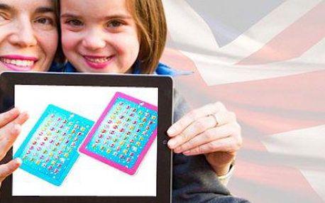 3D dětský tablet pro výuku angličtiny: zaujme pozornost dětí a naučí základy.