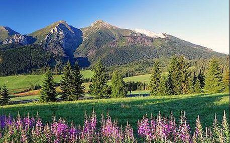 Navštivte perlu Tater - Belianské Tatry během celého roku. Pobyt pro 2 osoby s polopenzí