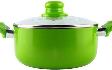 Hrnec Sofia 24 cm, zelený