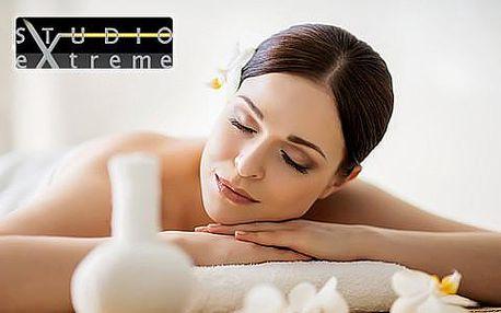 60minutová léčivá masáž ve VIP studiu eXtreme. Na výběr 14 druhů masáží.