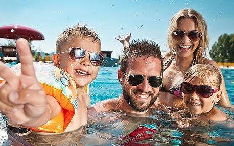 Celodenní rodinné vstupné do Aqualandu Moravia