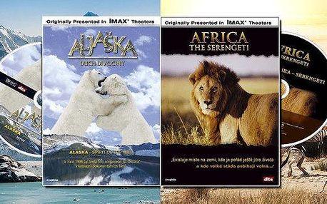 Sada 32 filmů na DVD IMAX