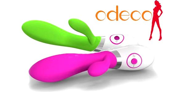 Vibrátor Odeco Rabbit s dvěma motory