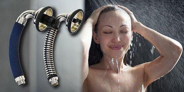 Úsporné sprchové hlavice s perlátorem