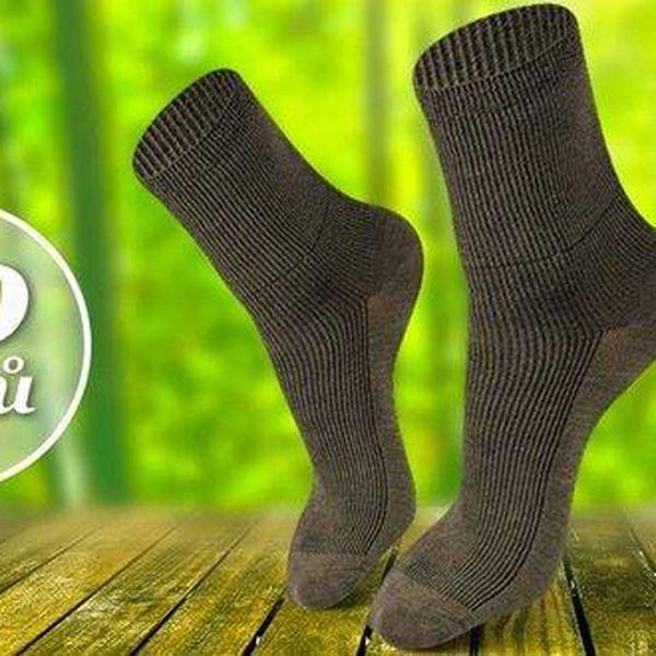 10 párů ponožek ze 100% přírodního materiálu