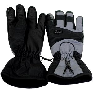 Lyžařské rukavice Loap Vasu GKU1202 černá/šedá
