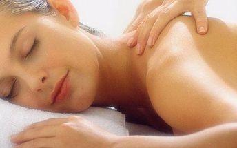 Masáž zad a šíje s reflexní terapií plosek…