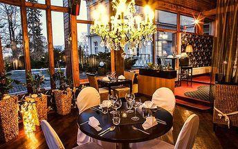 3denní romantický wellness pobyt pro dvě osoby v Parkhotelu Morris v Lužických horách