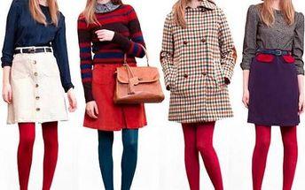 Dámské punčochové kalhoty Lady B MICROtighs 50 DEN - nebojte se barev!
