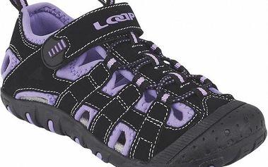 Dětské sandály Loap Jaya GSU1502 černo/fialové