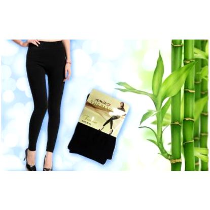 Buďte připraveni na zimu! Spolehlivě Vás zahřejí dámské termo legíny s příměsí bambusu za báječnou cenu!