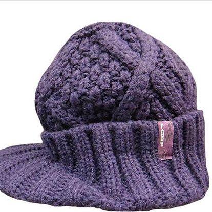 Zimní čepice Loap Carla fialová