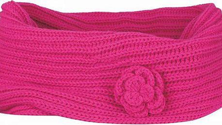 Zimní nákrčník LOAP ZAJA1 CSU1419 růžová