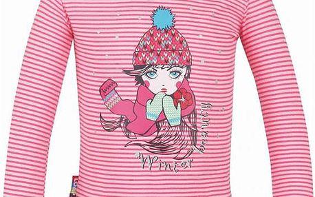 Dětské triko Loap Ingrid L4218 růžová