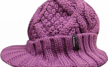 Zimní čepice Loap Carla růžová