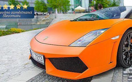 Jízda v Lamborghini Gallardo včetně paliva!