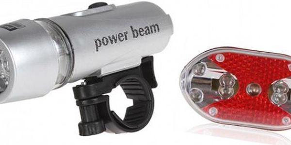 Sada LED světel BIKELIGHT na kolo zadní + přední - chraňte svůj život při noční jízdě na kole!