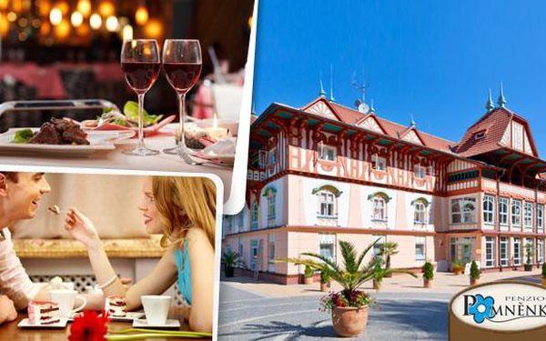Lázeňský pobyt s jídlem a wellness v Luhačovicích