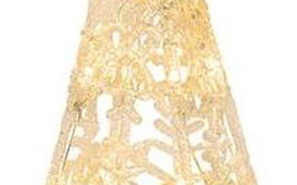 Svítící dekorace Crystal Cone 16
