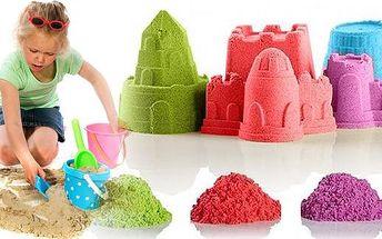 Zázračný barevný tekutý písek a 8 kusů báboviček jako bonus v jednom balení. Absolutní Megahit! Pro děti i pro dospělé. Tento písek udělá radost každému.