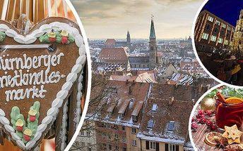 Adventní Norimberk - prohlídka města a vyhlášené vánoční trhy! Nalaďte se na vánoční čas jednodenním zájezdem do adventního Norimberku včetně dopravy i průvodce! Kromě historických památek vás zde čekají největší vánoční trhy v Evropě s nezapomenutelnou a