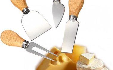 Sada nožů na krájení sýra 4 ks!